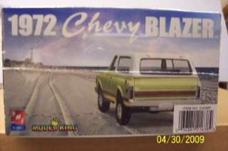 AMT/ERTL 21638P Model Kit 1972 CHEVY BLAZER New Sealed