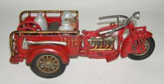 Size Cast Iron Indian Crash Car Motorcycle  (DP)