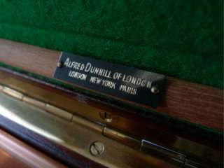 English Copper Lined Burl Birdseye Walnut Humidor Cuban Cigar Pipe