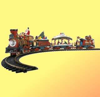 Bright Holiday Express Animated Train Set No. 384 050211003840
