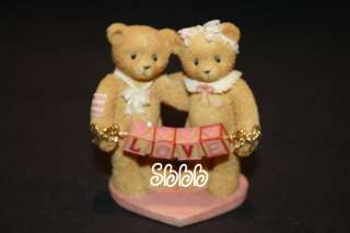 Teddies Valentines 1996 Bear Love Sign Heart 203076 Pink 2.5 Teddy