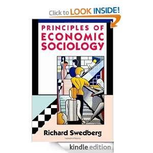 of Economic Sociology Richard Swedberg  Kindle Store