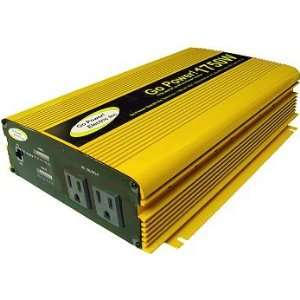 Go Power 1750 Watt Modified Sine Wave Inverter: Home Improvement