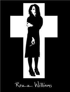 ROZZ WILLIAMS BABYDOLL SHIRT GOTHIC PUNK CHRISTIAN DEATH SHADOW