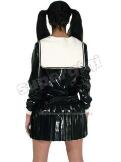 Latex (rubber) Schoolgirl Uniform  0.45mm catsuit suit