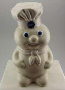 1988 Pillsbury Dough Boy Cookie Jar and Cookie Platter COA