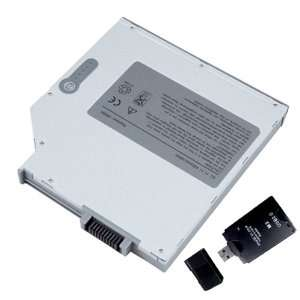 Series (Media Bay Battery) with ALL IN ONE Card Reader Electronics