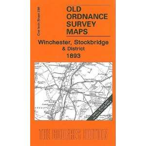 Winchester, Stockbridge and District 1893 (Old Ordnance