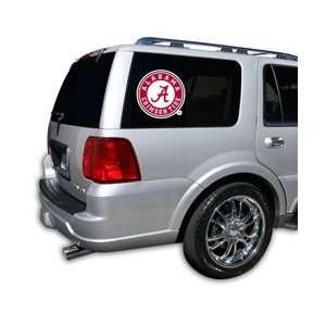 Alabama Crimson Tide Die Cut Window Film   Large Sports