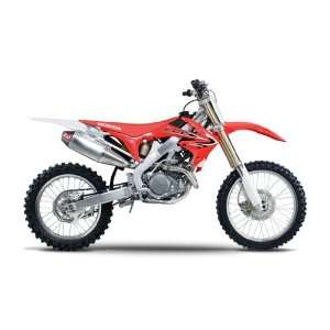 09 10 HONDA CRF450R YOSHIMURA RS 4 FULL SYSTEM EXHAUST   STAINLESS