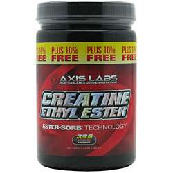 AXIS Labs CREATINE ethyl ester HCL, 396 capsules