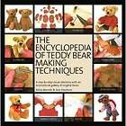 The Encyclopedia of Teddy Bear Making Techniques   Book Patterns