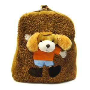 Cute Teddy Bear Plush Brown Baby Backpack Toys & Games