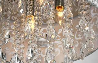 CRYSTAL CEILING CHANDELIER PENDANT LIGHT FIXTURE LIGHTING LAMP