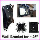 slim lcd led monitor tv wall mounts bracket mount for