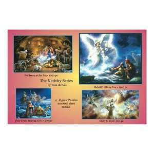 Sunsout Nativity Series Boxed Set 1000 Piece Jigsaw Puzzle