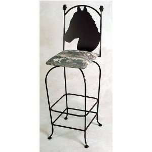Adolfo Grace Equestrian Collection 30 High Wrought Iron