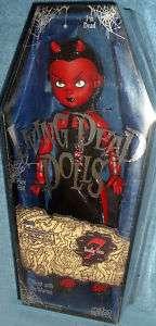 Living Dead Dolls Series 7 Deadly Sins Lust Goth Doll