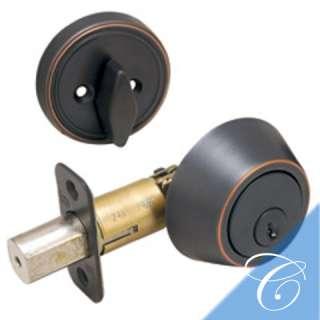 Oil Rubbed Bronze Single Cylinder Deadbolt LifeWarranty