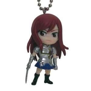 Fairy Tail mini Deformed Figure Series Keychain Erza