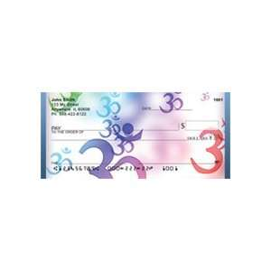 Sacred Aum Symbol Personal Checks: Office Products