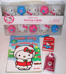 HELLO KITTY Watch   Coloring Books   String Lights