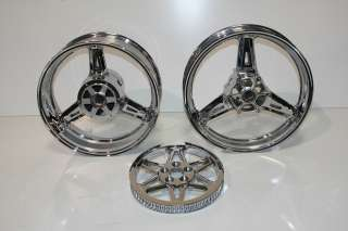 YAMAHA ROADSTAR WARRIOR XV 1700 XV1700 RIMS NEW CHROME WHEELS 02 05