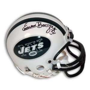 Autographed Emerson Boozer New York Jets Mini Helmet