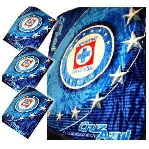 CRUZ AZUL MEXICO KING SIZE OFFICIAL BLANKET: Sports