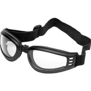 River Road Mach 3 Adult Harley Cruiser Motorcycle Goggles