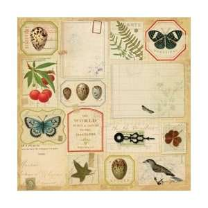 Flora & Fauna Flat Paper 12X12 by K&Company Arts, Crafts & Sewing