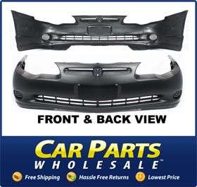 New Bumper Cover Facial Front Primered Chevy Chevrolet Monte Carlo