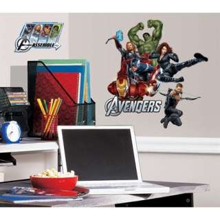 17 New AVENGERS WALL DECALS Hulk Iron Man Thor Captain America