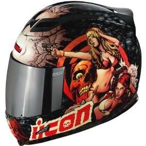 Mens Airframe Sports Bike Racing Motorcycle Helmet   Black / 2X Large