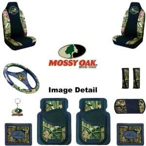 Camo Car Truck SUV Front & Rear Floor Mats Seat Covers Steering Wheel