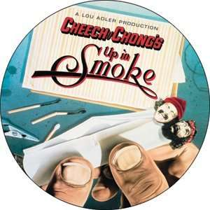 Cheech and Chong Up in Smoke Button B US 0001 Toys
