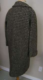 Magee Galla Morra Tweed Overcoat Donegal Gray Brown 16