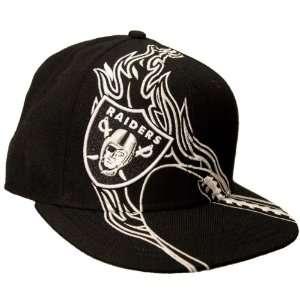 NFL Oakland Raiders REDZONE Flat Bill Cap Sports