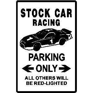 STOCK CAR RACING PARKING nascar race sign Home & Kitchen