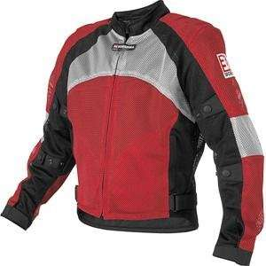 Yoshimura AF Mesh Jacket   2X Small/Red/Black/Silver Automotive