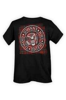 The Ramones Plaid Seal T Shirt