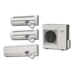 BTU 230/208V 15.0 SEER Tri Zone Wall Mounted Cool/Heat Pump Ductless