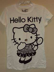 Hello Kitty White Kitty Dressed Up T shirt