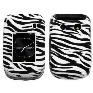 Blackberry Style 9670 Zebra Skin Hard Case Cover Protector