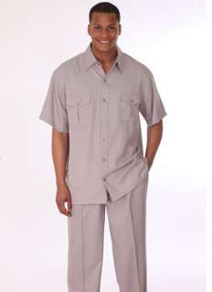 / Spring Milano Moda Mens Leisure Walking Casual Suit Set sty  2949