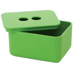 Design Ideas EcoGen Bath Box, Small, Green: Home & Kitchen