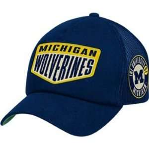 Michigan Wolverines Adidas Snap Back Trucker Hat Sports