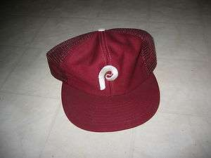 New Old Stock Vintage Philadelphia Phillies Baseball Cap / Hat with