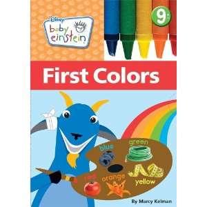 Disney Baby Einstein) Marcy Kelman 9781423138853  Books