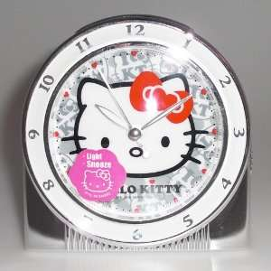 Hello Kitty Exclusive Musical Alarm Clock (Art Deco Silver